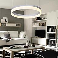 Anello moderno cerchio contratto lampada a sospensione led