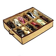 "22.5"" x26.5"",57x67.3(CM) Bamboo Storage Box Organize For 12 Shoes Storage Boxes"