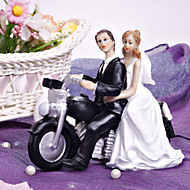 "Cake Toppers Motorcycle ""Get-away""  Cake Topper"