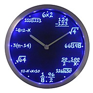 nc0461 Math Class Algebra Formula Mathematics Teacher gift Neon LED Wall Clock