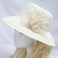 naisten merenranta aurinko hattu beige kukka