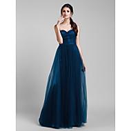 Lanting Mix&Match Convertible Dress Floor-length Tulle A-line Dress (1739560)