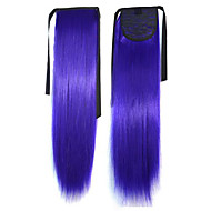 Top  Quality Hot Selling  Peny Tail Hair   Clips  Colour  Colorful     Bar  Wholesale  Hair Extension  Purple  Popular 20 Inch