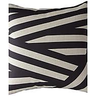Contemporary Style Cotton/Linen Decorative Pillow Cover