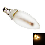 Eastpower E14 2.5 W 16 SMD 5050 180 LM Warm White C Decorative Candle Bulbs AC 220-240 V