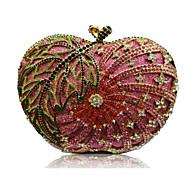 Women's Cute Design Rhinestone Clutch Purse Bag