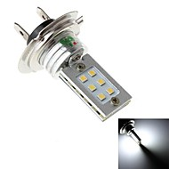H7 12W 12xSMD 2323 350LM 6000K White Light LED for Car Headlamp (DC 10-30V)