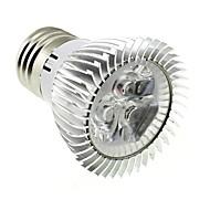 3W E26/E27 LED 스팟 조명 MR16 3 고성능 LED 220 lm 차가운 화이트 AC 85-265 V