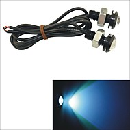 Carking™ 12V 1.5W 18MM Auto Car  LED Eagle Eye DayTime Running Light Reverse Lamp-Ice Blue