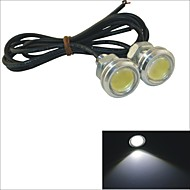 Carking™ 12V 1.5W 23MM Auto Car LED Eagle Eye DayTime Running Light Reverse Lamp-White Light