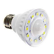 3W E26/E27 LED Spotlight A60(A19) 12 SMD 5050 160-180 lm Warm White / Cool White Sensor AC 220-240 V
