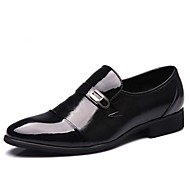 Men's Shoes Round Toe Flat Heel Calf Hair Loafers Shoes More Colors avaliable