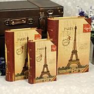 von 3 Eiffelturm Kartenpapier Geschenk-Box-Set