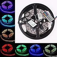 vesitiivis 5m 300x5050 smd RGB LED nauhat joustava valo + rgb 44key kaukosäädin (AC100-240)