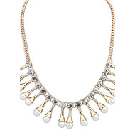 European Style Fashion Style Beautiful Pearl Necklace