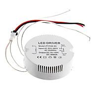 0.3a 25-30w dc 70-120v para motorista AC 85-265V circular externa de corrente constante fonte de alimentação para a lâmpada do teto levou
