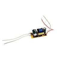 0.3a 4-7w dc 12-22v para AC 85-265V motorista fonte de alimentação de corrente constante interna para luzes de Foco LED