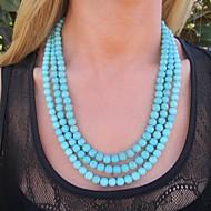 Women's European Fashion Turquoise  Necklace (1 Pc)
