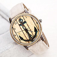 Women's Restoring Ancient Ways Boat Anchor Dial PU Band Quartz Analog Wrist watch (Assorted Colors) Cool Watches Unique Watches