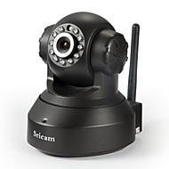 sricam® drahtlose ir h.264 p2p Megapixel 720p Wannenneigung-IP-Kamera Innen-AP002