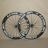 700c udelsa U50 u forme karbonhjul for road sykkel med lette nav