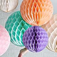 16 inch honingraat weefsel papieren bloem bal (meer kleuren)