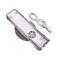 Portable Blue LED Light Cooling Fan Cooler Dock Stand for Nintendo Wii Console