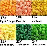 kb 500db / csomag 5mm Perler gyöngyök biztosíték gyöngyök hama gyöngyök EVA anyagból safty gyerekeknek (válogatott B17-B24)