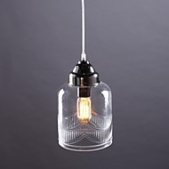 40W Pendant Light ,  Modern/Contemporary / Traditional/Classic / Vintage / Lantern / Country Nickel Feature for Mini Style GlassLiving