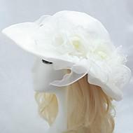 오간자 결혼식 신부 모자