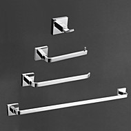 YALI.M®,Bathroom Accessory Set Chrome Wall Mounted Brass Contemporary