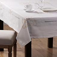 ensemble d'une nappe en lin et six toile de lin serviette de table