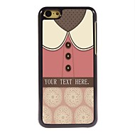 Personalized Gift Lovely Pink Shirt Design Metal Case for iPhone 5C