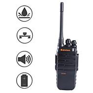 baiston BST-508 professionel supermagt vandtæt stødsikker 6W walkie talkie - sort