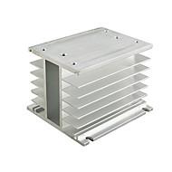 trefaset solid state relæ radiator 10-100a konvertering kontakt Delixi elektrisk