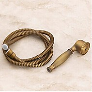 Brass Handle Shower,Shower Hose With G1/2 1.5M