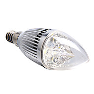 4W E14 LED Candle Lights 4 High Power LED 360 lm Natural White Dimmable AC 220-240 V