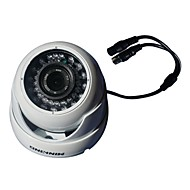 "MINKING ™ 1/3"" CMOS 800TVL IR Color Dome Camera for Indoor"