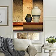 Ретро картина маслом стиль натюрморт банки ролик тени