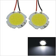 Carking™ T10 / BA9S / Festoon 28mm~40mm 2W 15-COB LED White Car Interior Dome Light(2PCS)