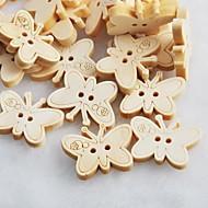 бабочка альбом scraft швейные DIY Деревянные кнопки (10 шт)