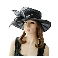 British Style Organza Party/ Outdoor /Casual Hat  With Flora