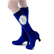 dámská textilní vzplanul patě moderní taneční boty pobřeží (více barev)