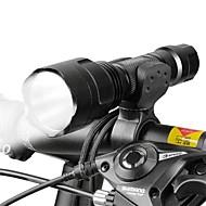 Lanternas LED / Luz Frontal para Bicicleta LED Ciclismo Foco Ajustável 18650.0 Lumens BateriaCampismo / Escursão / Espeleologismo / Uso
