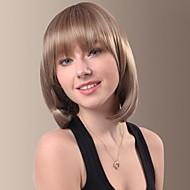 moda linda perucas de cabelo retas curtas com estrondo completo