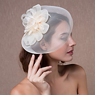 Dame Organza Headpiece-Bryllup fascinators / Blomster / Hatter