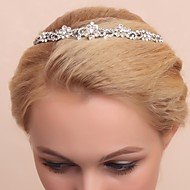 Women's/Flower Girl's Alloy/Cubic Zirconia Headpiece - Wedding/Special Occasion Tiaras