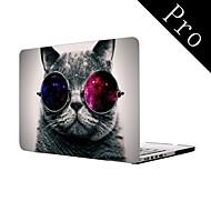"""v pohodě kočka celoplošný design ochranné plastové pouzdro pro MacBook Pro 13 """"/ 15"""" (non-sítnice)"""