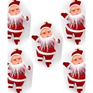 """5-pakning 4.3 """"juletre hengende dekorasjon julenissen dukke"""