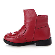 Støvler ( Sort/Rød ) - GIRL - Combat Boots